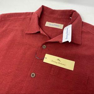 Tommy Bahama Cayman Winds Silk Hawaiian Shirt